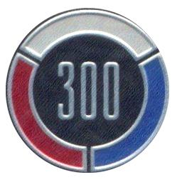 chrysler 300 emblem